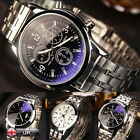 Luxury YAZOLE Noctilucent Stainless Steel Men's Date Quartz Analog Wrist Watches