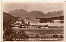 Loch Leven and the Sleeping Chancellor, from above the Glen Coe Hotel