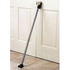 NEW ~ Deluxe Door Guard Security Brace Stick Hotel Room Protection Rod Bar Wedge