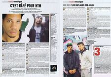 COUPURE DE PRESSE CLIPPING 2007 Ntm (2 pages)Joey Starr Kool Shen