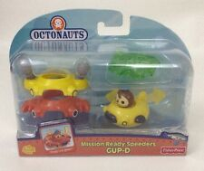 NEW Fisher-Price Octonauts Mission Ready Speeders Gup-D Diecast 4-1 Snap On