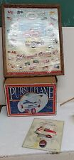1993 XONEX SCALE MODEL PEDAL PURSUIT AIRPLANE MODEL LOT W/SIGNED WEIRICH POSTER