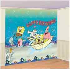 SpongeBob SquarePants Birthday Party Scene Setters Giant Wall Decorating Kit