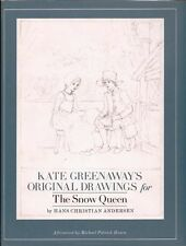 Kate Greenaway's Original Drawings for the Snow Queen by Hans Christian Andersen