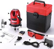 Professional Automatic Self Leveling 5 Line 6 Point 4V1H Laser Level Measure U