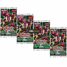 Yu-Gi-Oh Cards: Invasion: Vengeance 4 Sealed Booster Packs (INOV)