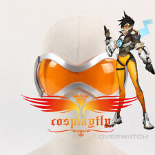 Game Overwatch Tracer Lena Oxton Cosplay Glasses Orange Blinkers Safety Goggles