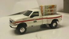 1/64 CUSTOM Ford f350 pioneer hybrids TRUCK WITH pallet of seed corn bags ERTL