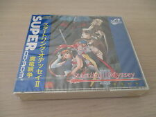 STARTLING ODYSSEY II 2 RPG PC ENGINE CD JAPAN IMPORT NEW FACTORY SEALED!