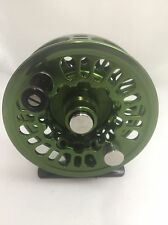 Abel Super 4N Olive Fly Reel NEW! 4-5 Weight Lines