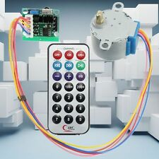 4-Phase 5-Wire Stepper Motor + Driver Board + Remote Control RC Adjustable Speed