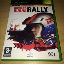 RICHARD BURNS RALLY Xbox Original complete