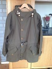 Nigel Cabourn freddo Taffy Parka con fodera in alpaca 50 UK40