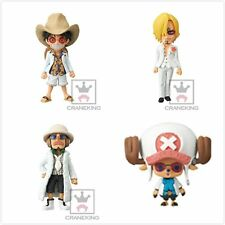Banpresto One Piece Film Gold WCF Vol.1 Mini Figure SET of 4 Luffy Chopper etc.