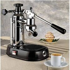 La Pavoni EN Europiccola Chrome Manual Lever Espresso & Cappuccino Machine 220V