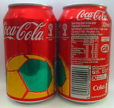 Coca Cola UK World Cup Brazil 14 - 330ml can - full and perfect!