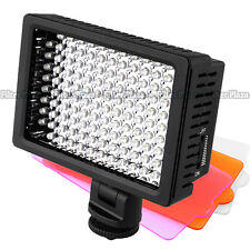 Pro HD-160-LED Video Light Lamp for Canon Nikon Sony DSLR Camera DV Camcorder