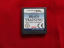BRAIN TRAINING FOR NINTENDO DS