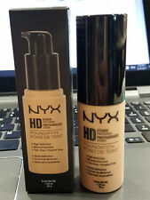 NYX HD Studio Photogenic Foundation HDF01 Nude 1.26 oz NEW with Box
