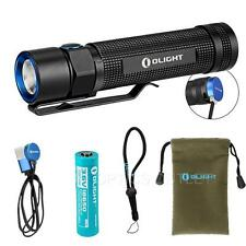 Olight S2R Baton 1020 Lumens Magnetic Rechargeable LED Flashlight S1R S2 Upgrade