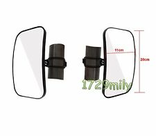 "1 Set 1.75"" Rear or Side View Mirror for Yamaha Rhino Polaris Ranger or RZR"