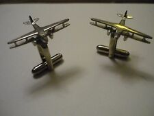 De Havilland DH89A Dragon Rapide c118 Pair Cufflinks Fine English Modern Pewter