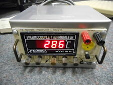 OMEGA ENGINEERING RI-5000 TC RECORDER PREAMLIFIER & INDICATOR W/THERMOCOUPLE TH.