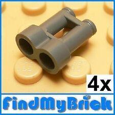 U018B x4 Lego Minifigure Untensil Binocular - Gray NEW