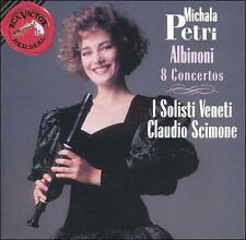 Albinoni: 8 Concertos Michala Petri Audio CD