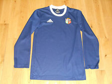 British & Irish Lions #10 Rugby Jersey Adidas Long Sleeve Blue Mens X-Small