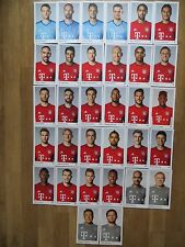 32 Autogrammkarten AK FC BAYERN MÜNCHEN FCB 15/16 2015/2016 Autogrammkartensatz