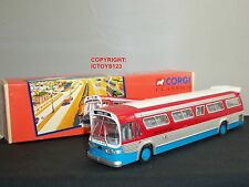 CORGI 54404 GM5301 LIONEL CITY TRANSIT FISHBOWL AMERICAN MODEL BUS COACH