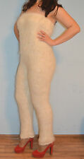Overals top and pants Cashmere Mohair Angora fluff Goat Fur FETISH Soft Sexy