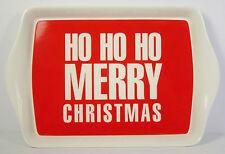 Ho Ho Ho Piccolo Vassoio Rosso Bianco Buon Natale Regalo Di Natale regalo nuovo