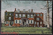 Lancaster PA Wheatland home of President James Buchanan1907 postcard