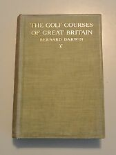 GOLF COURSES OF GREAT BRITAIN by Darwin Sports 1925