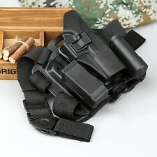 Tactical Puttee Thigh Set Drop Leg Pistol Gun Right Hand Holster Magazine Pouch