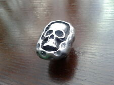 Gothic Reaper Skull Pewter Drawer/cupboard Knob by Stoney's Badge Supplies