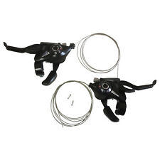 Shimano ST-EF51 Set L3 x R7 Shifter/Brake Lever Combo (21 Speed) Black V-Brake