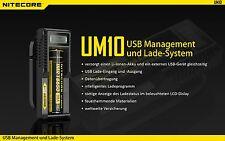 Nitecore Sysmax UM10 - Ladegerät für Li-Ion