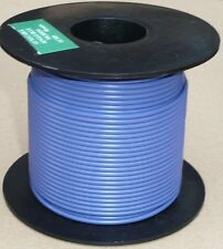 Large Cable Reel 9/0.3mm (0.65mm²) 5 Amp Blue 50M