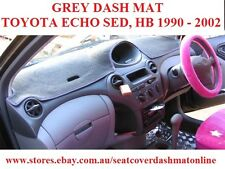 DASH MAT, DASHMAT,DASHBOARD COVER FIT  TOYOTA ECHO  1999-2002, GREY