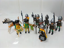 PLAYMOBIL REF 3666 LOTE CABALLEROS TORRE CASTILLO MEDIEVAL CASTLE TOWER KNIGHTS