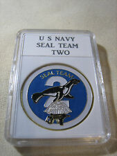 US NAVY SEAL TEAM TWO Challenge Coin