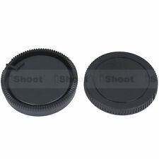 Rear lens cover ✚ camera body cap for Sony a900 a750 a550 a450 a350 a300 a33 a55