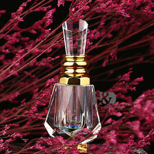 Vintage Section Cap Glass Crystal Perfume Bottle Stopper Wedding Empty Gifts 3ml