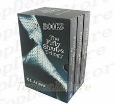 E L James 50 Fifty Shades of Grey, Darker & Freed Trilogy 3 Books Collection Set