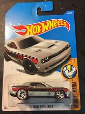 2017 Hot Wheels CUSTOM Super '15 Dodge Challenger SRT with Redline Real Riders
