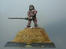 Unknown Barbarian fighter warrior norse metal citadel GW conan style diorama