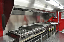 7' Concession Trailer Hood System with Exhaust Fan